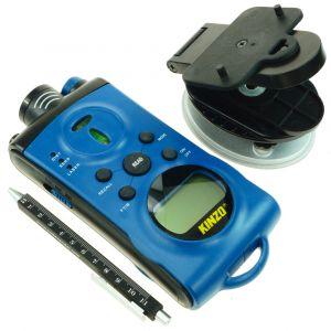 KINZO Multifunktionswerkzeug 3-in-1 mit Ultraschall und Laser