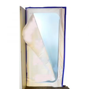Farbwanne Gr.1 /+ Lackierroller 10 cm breit, Feinschaum